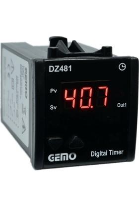 Gemo Tek Haneli Zaman Rolesi DZ481-24VDC