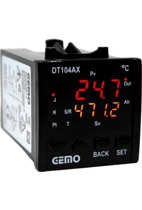 Gemo Sıcaklık Kontrol Cihazı DT104AX-230VAC-S