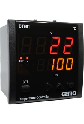 Gemo Sıcaklık Kontrol Cihazı DT961-230VAC-R