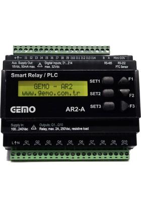 Gemo Akıllı Role AR2-A-24VDC-14D