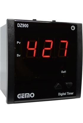 Gemo 4 Hane Zaman Rölesi DZ900-230VAC