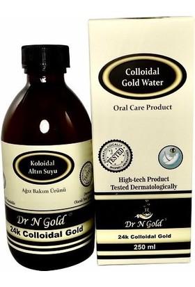 Dr N Gold Kolloidal Altın Suyu - Ağız Bakım Suyu 250 ml-20 ppm