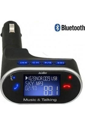 Kingboss Mobitell Kingboss Fm Transmitter 630C Oto Ses Aktarıcı Usb/bt/mp3/aux