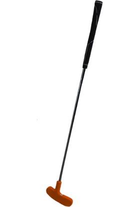 MiniGolf35 Kauçuk Golf Sopası Putter- Turuncu