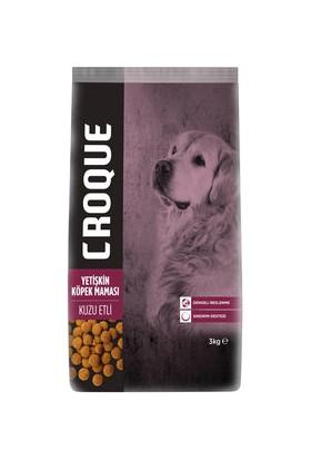 Croque Yetişkin Köpek Maması Kuzulu 3 kg