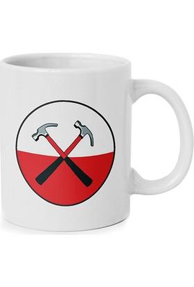 Anı Diyarı Pink Floyd Logo Baskılı Kupa Bardak