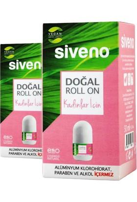 Siveno Doğal Roll On Kadınlar Için 50 ml 2 Adet