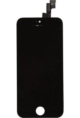 Ekranbaroni Apple iPhone 5S LCD Ekran Dokunmatik Cam Siyah