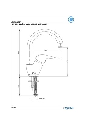 Yak Ar 102108710 Ar Riva Lavabo Bataryası