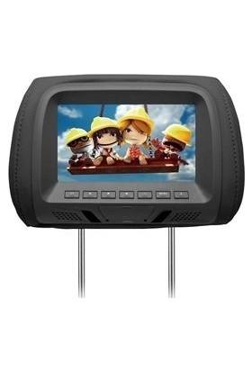 """Newfron Nf-07.us 7"""" USB Sd Siyah Araç Kafalık Monitör"""