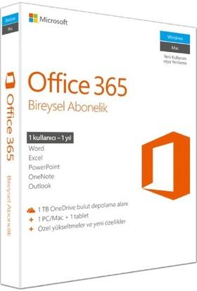 Microsoft Office 365 Bireysel Abonelik 1 Yıl 1 Kullanıcı