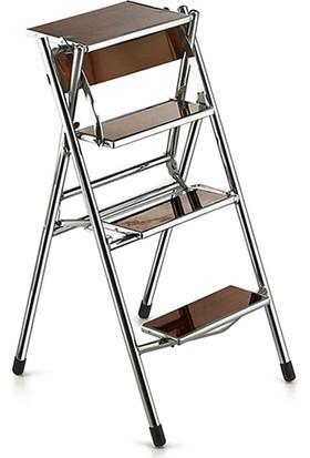 Zeren Katlanı Merdivene Dönüşen Sandalye Ceviz