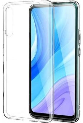 Kılıfist Huawei P Smart Pro 219 Kılıf Zore Süper Silikon Kamera Korumalı Şeffaf