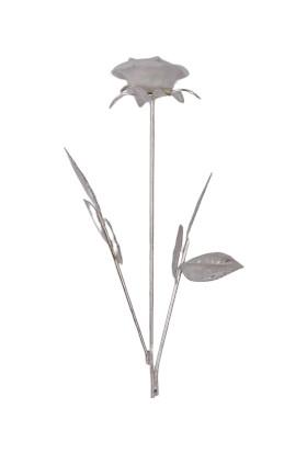 Zücace Tekli Beyaz Gül Dekoratif Hediye