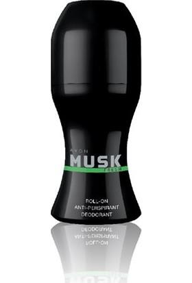 Avon Musk Fresh Antiperspirant Roll-On Deodorant