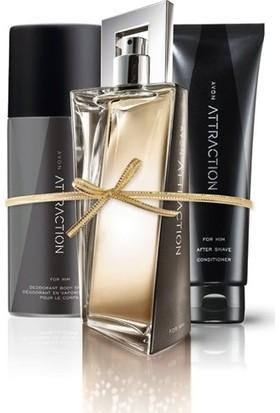 Avon Attraction Erkek Parfüm Seti