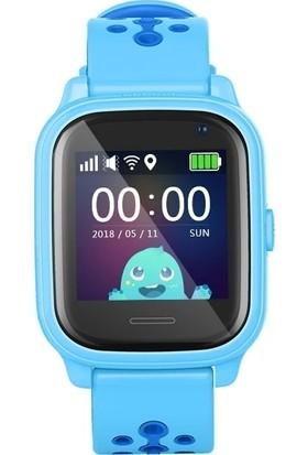 Pufwin Vmax Hr Kameralı Akıllı Çocuk Takip Saati - Mavi