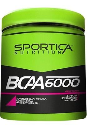 Sportica Nutrition Bcaa 6000 4:1:1 360 Gr