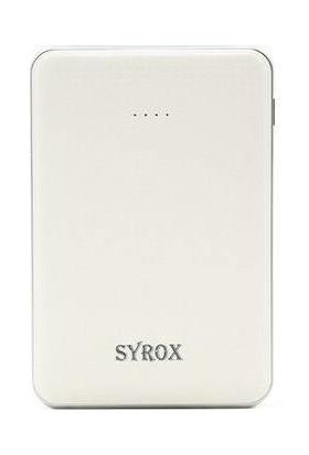 Syrox 6000 mAh Taşınabilir Şarj Cihazı SYX-PB103 - Beyaz