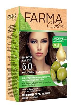 Farmasi Farma Color Saç Boyası 6.0 Koyu Kumral