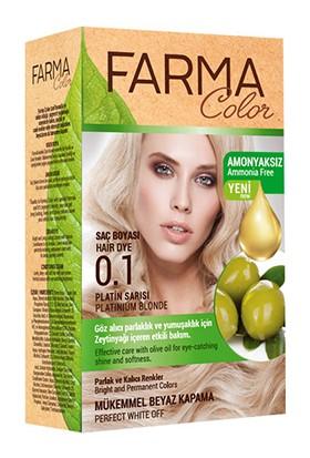 Farmasi Farma Color Saç Boyası 0.1 Platin Sarısı
