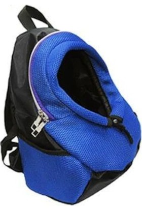 Ksburda Style Anakucağı Kedi-Köpek Taşıma Çantası Mavi