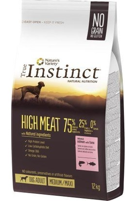 Instinct Yüksek Etli Somonlu Tahılsız Yetişkin Köpek Maması 2 kg