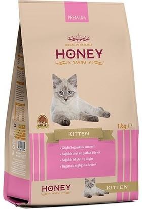 Honey Premium Kitten Tavuklu Yavru Kedi Maması 1 kg