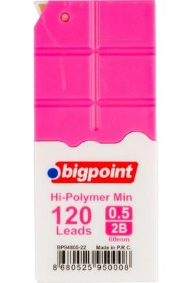 Bigpoint Kalem Ucu 0.5mm 2B 120'li Tüp Pembe 12'li Kutu