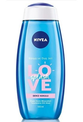 Nivea Love Splash Banyo ve Duş Jeli 500 ml