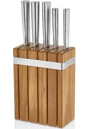 Schafer Solide Inox Metal 6 Parça Bıçak Seti INX04