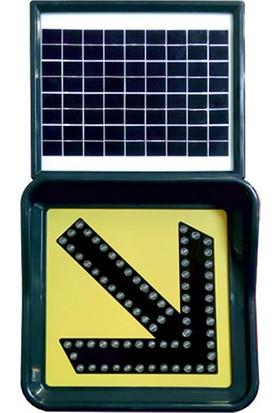 İlgi Trafik Ledli Solar Flaşör Sağdan Gidiniz 11862 Fl S