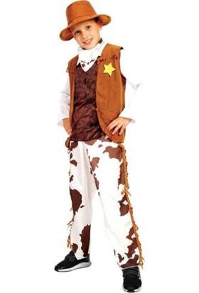 Sunman Erkek Kovboy Kostümü 4 - 6 Yaş