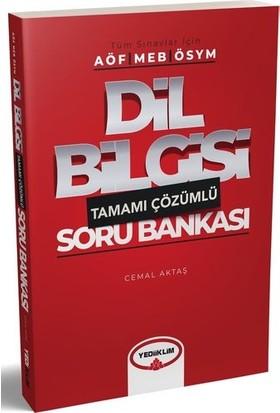 Yediiklim Yayınları Tüm Sınavlar İçin Dil Bilgisi Tamamı Çözümlü Soru Bankası