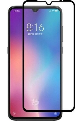 Tekno Grup Xiaomi Mi 9 Tam Kaplayan Temperli Cam Ekran Koruyucu