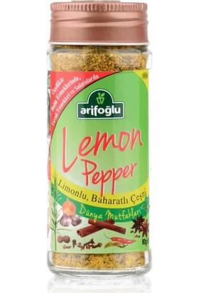 Arifoğlu Lemon Pepper - Balık Bharatı 90gr (Cam)