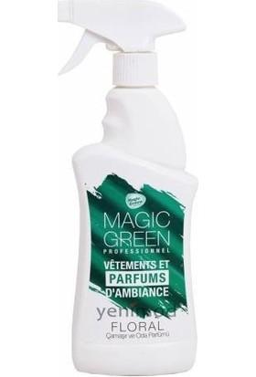 Sihirli Sıvı Magic Green Çamaşır ve Oda Parfümü Floral 400 ml