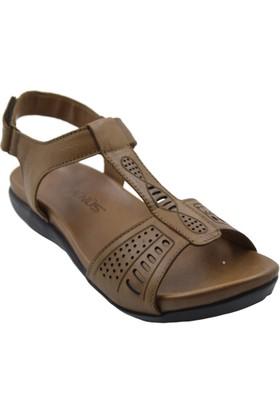 Venüs 252Y Deri Kadın Taba Sandalet