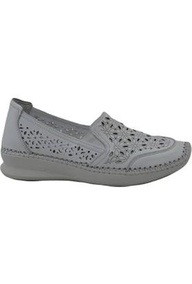 Venüs 13785Y Deri Kadın Beyaz Ayakkabı