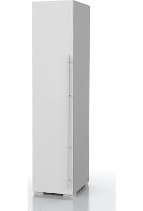 Dekorex BNY114BEYAZ Boy Kapaklı Yüksek Banyo Dolabı