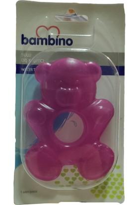Bambino Sulu Diş Kaşıyıcı Ayıcık - Mor