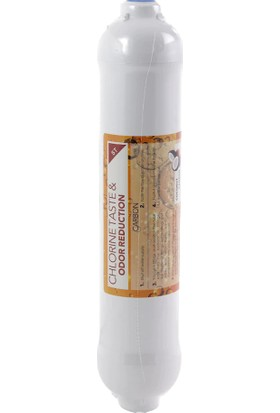 Vontron Membran Filtre 75 Gpd + Coconat Bazlı Karbon Tatlandırıcı Filtre