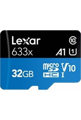 Lexar 32 GB 633X Micro Sd Hafıza Kartı + Adaptör (95MB/S)