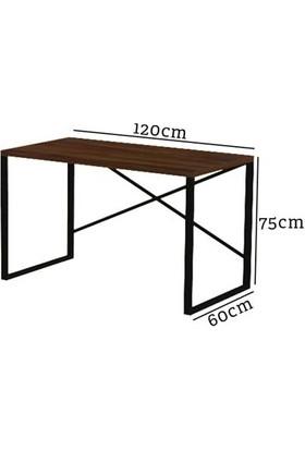 Evdemo Sude Metal Çalışma Masası Ceviz