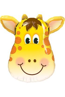 Cansüs 16İnç Zürafa Folyo Balon 40 Cm