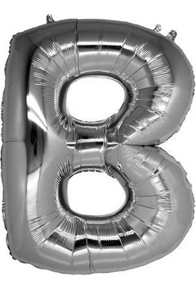 Elitetime Folyo Balon Harf B 16İnc Gümüş P1 - Ar4615B-G
