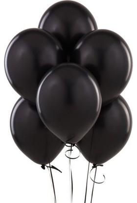 Datapos Metalik Siyah Balon 20 Adet