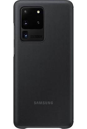 Samsung Galaxy S20 Ultra Clear View Kılıf Siyah EF-ZG988CBEGWW