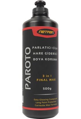 Netfer Paroto & Heroto & Heroto-75 & Heroto-Ka 4'lü Pasta Cila Set - 500 gr