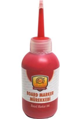 Factory Genuine Board Marker Tahta Kalemi Mürekkebi 100 ml Kırmızı